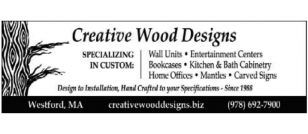 CREATIVE WOOD DESIGNS - Keith R Schoenenberger