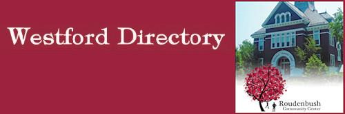 Roudenbush Westford Directory