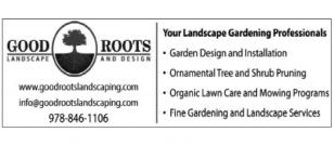 GOOD ROOTS LANDSCAPE & DESIGN