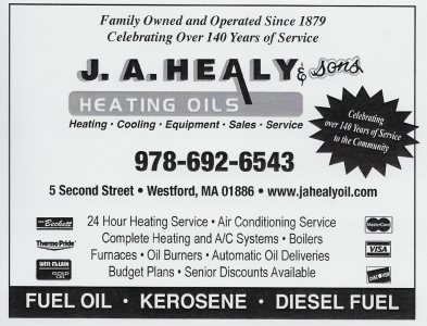 HEALY J A & SONS OIL CO
