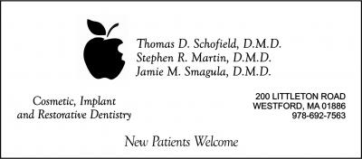 SCHOFIELD Thomas D dentist