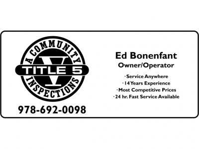 A COMMUNITY TITLE V SERVICES - ED BONENFANT