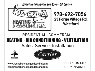 NASHOBA HEATING AND COOLING INC