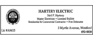 HARTERY ELECTRIC