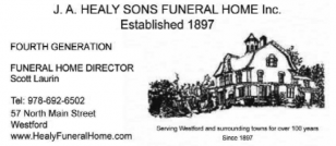 HEALY J A SONS FUNERAL HOME