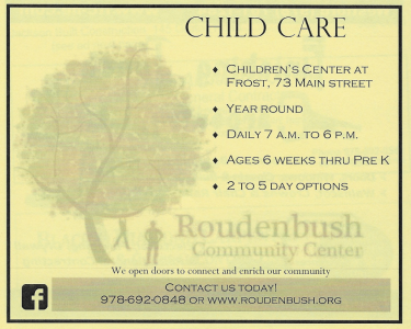 ROUDENBUSH CHILDREN'S CENTER AT FROST