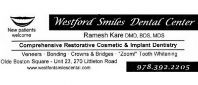 WESTFORD SMILES DENTAL CENTER - Ramesh V Kare DMD
