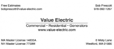 VALUE ELECTRIC