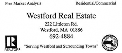 WESTFORD REAL ESTATE INC