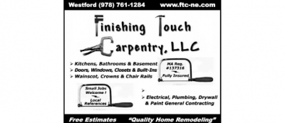 FINISHING TOUCH CARPENTRY LLC