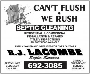 LACOMBE R J SEPTIC SERVICE